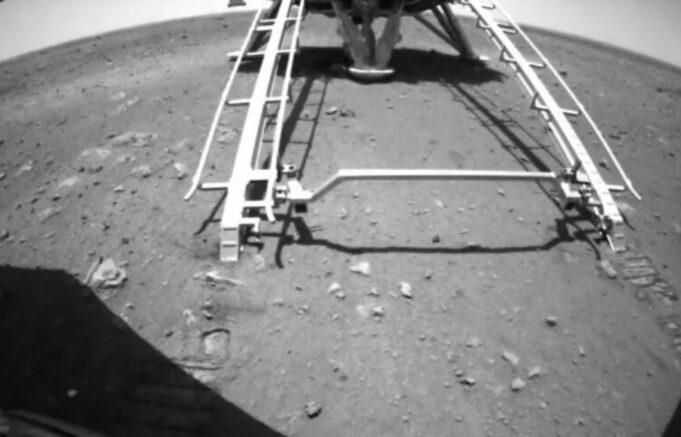 spuštanje kineske sonde na mars